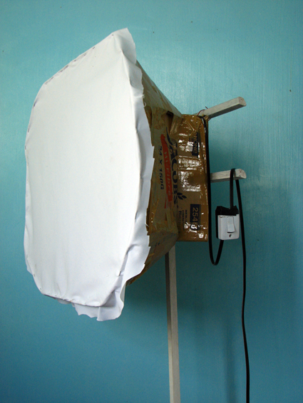 homemade softbox
