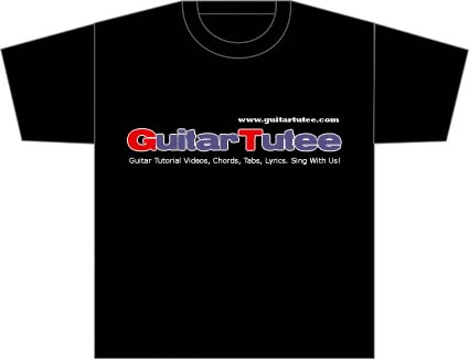 Guitar and T-Shirts Give-Away Contest Updates — GuitarTutee